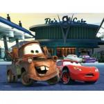 Puzzle  Trefl-18137 Cars: An der Tankstelle