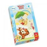 Puzzle  Trefl-18154 Winnie the Pooh: Im Regen tanzen