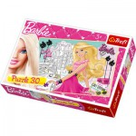 Puzzle  Trefl-18171 Barbie