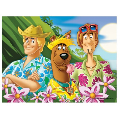 Puzzle Trefl-18197 Scooby Doo im Urlaub