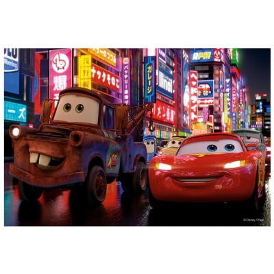 Puzzle Trefl-19397 Cars 2: Flash McQueen und Martin