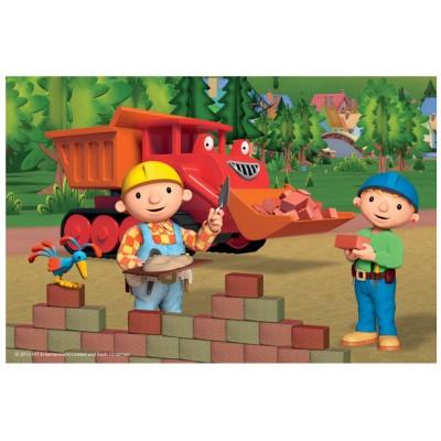 Puzzle Trefl-19413 Bob der Baumeister