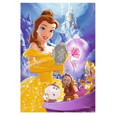 Trefl-19538 Mini Puzzle - Disney Princess
