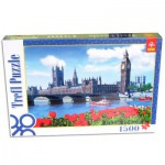 Puzzle  Trefl-26104 Das Unterhaus, London