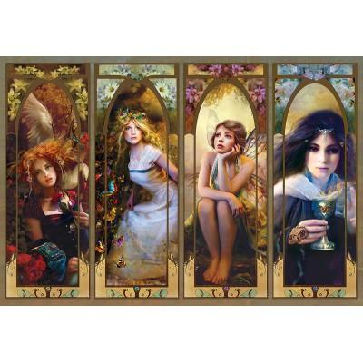 Puzzle Trefl-26116 Fantasie Collage
