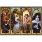 Puzzle  Trefl-26116 Fantasie Collage
