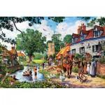 Puzzle  Trefl-26121 Ländliche Idylle
