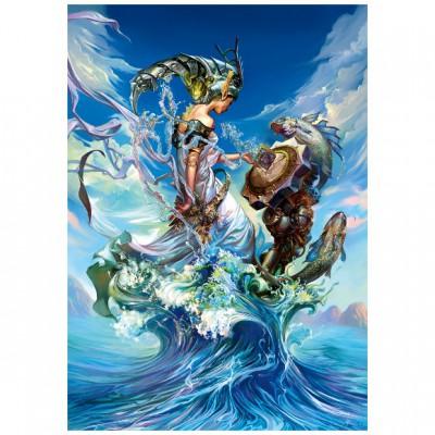 Puzzle Trefl-27072 Meereskönigin