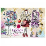 Trefl-30006 Shine Color Puzzle - Ever After High