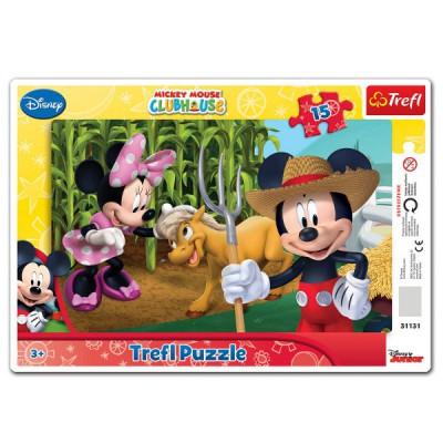 Trefl-31131 Rahmenpuzzle: Micky Maus