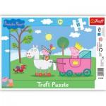 Trefl-31152 Rahmenpuzzle: Ritter