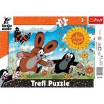 Trefl-31160 Rahmenpuzzle - Der kleine Maulwurf