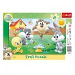 Trefl-31207 Rahmenpuzzle - Looney Tunes