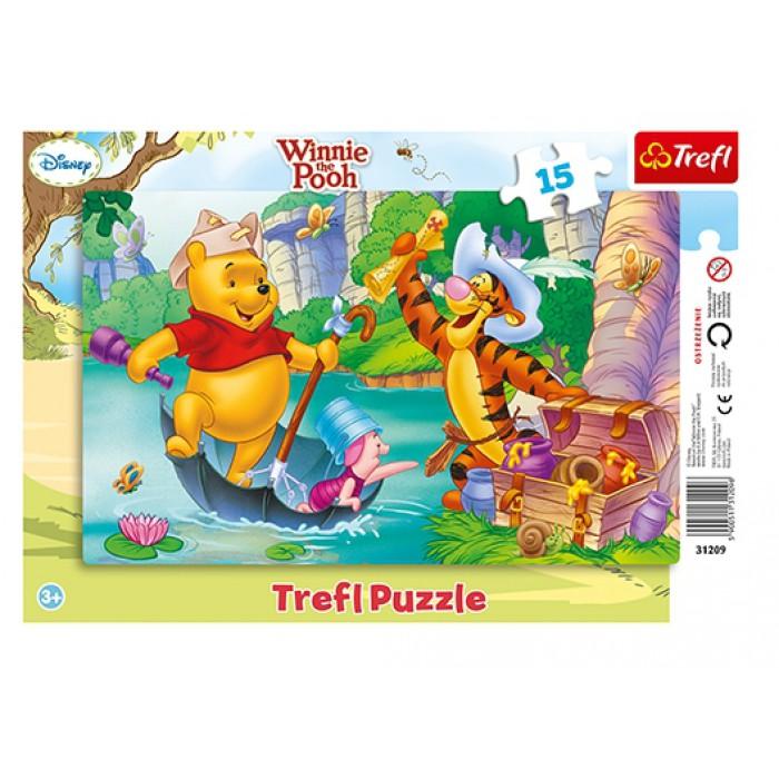 Rahmenpuzzle - Winnie Pooh