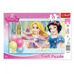 Trefl-31210 Rahmenpuzzle - Disney Princesses