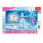 Trefl-31229 Rahmenpuzzle - Disney Princess