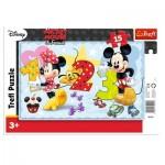 Trefl-31241 Rahmenpuzzle - Mickey
