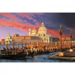 Puzzle  Trefl-33020 Santa Maria della Salute, Venedig