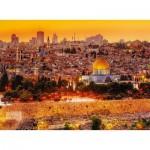 Puzzle  Trefl-33032 Die Dächer Jerusalems