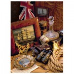 Puzzle  Trefl-33043 Maritime Souvenirs