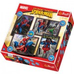 Trefl-34120 4 Puzzles in 1: Spiderman