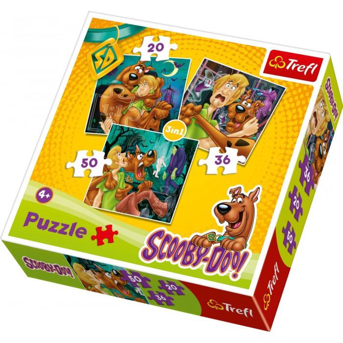 3 Puzzles in 1: Samy und Scooby-Doo