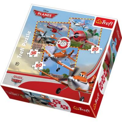Puzzle Trefl-34189 Disney Planes