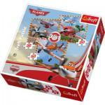 Trefl-34189 3 Puzzles: Flugzeuge