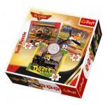 Trefl-34197 3 Puzzles - Planes