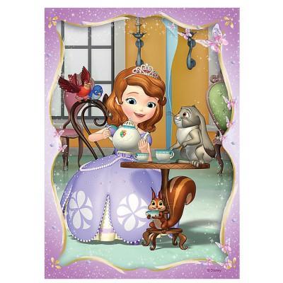 Trefl-34247 4 Puzzles - Disney Sofia die Erste
