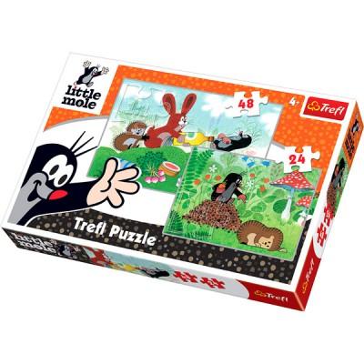 Puzzle Trefl-34400 Spaß auf der Wiese