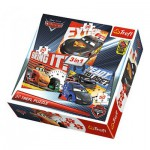 Trefl-34819 3 Puzzles - Cars