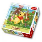 Puzzle  Trefl-35568 3D Effekt - Winnie Pooh