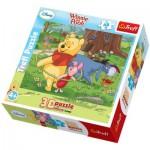 Trefl-35734 3D Puzzle: Winnie Pooh