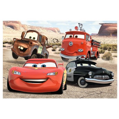 Trefl-36514 Color Puzzle - Cars