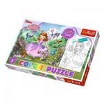Trefl-36515 Color Puzzle - Sofia the First