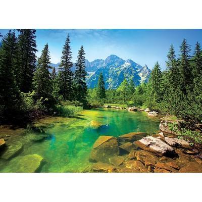 Puzzle Trefl-37117 Fluss von Tatra, Polen