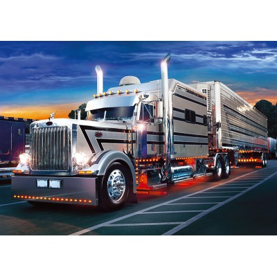 Puzzle Trefl-37121 Amerikanischer Truck