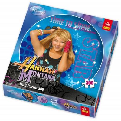 Trefl-39016 Rundes Puzzle: Hannah Montana