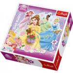 Trefl-39067 Puzzle Form - Disney Prinzessinnen