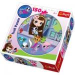 Trefl-39090 Rundpuzzle: Petshop