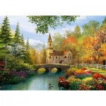 Puzzle  Trefl-45000 Dominic Davison: Herbstnostalgie