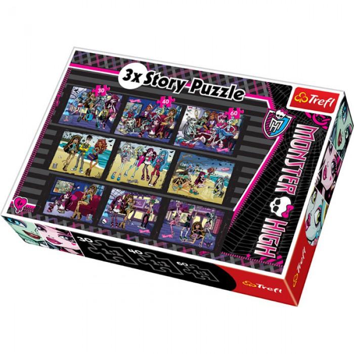 3 Geschichten in 3 Größen: Monster High