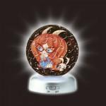 Pintoo-A2394 Puzzlekugel aus Kunststoff - Nachtlicht - Sternzeichen: Steinbock