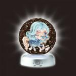 Pintoo-A2395 Puzzlekugel aus Kunststoff - Nachtlicht - Sternzeichen: Schütze