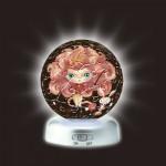 Pintoo-A2495 Puzzlekugel aus Kunststoff - Nachtlicht - Sternzeichen: Löwe