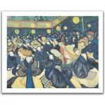Pintoo-H1078 Puzzle aus Kunststoff 500 Teile - Vincent Van Gogh: La salle de danse à Arles
