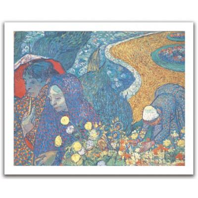 Pintoo-H1082 Puzzle aus Kunststoff 500 Teile - Vincent Van Gogh: Les femmes d'Arles