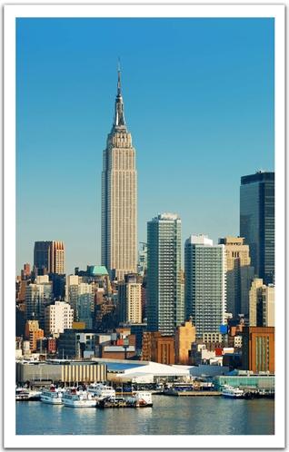 Pintoo-H1266 Puzzle aus Kunststoff 1000 Teile - New York, USA