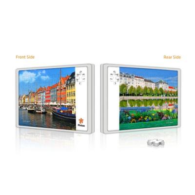 Pintoo-U1006 Puzzle Push aus Kunststoff 48 Teile - Kopenhagen und Wien